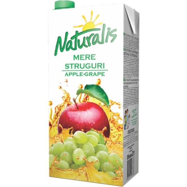 Nectar de mere-struguri Naturalis 2L