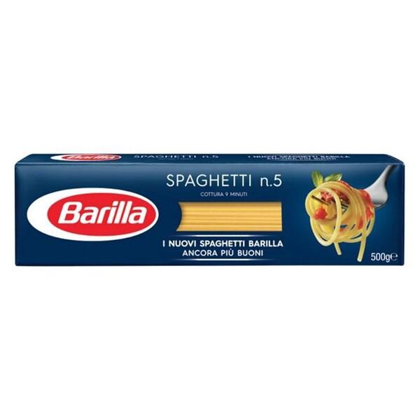 "Paste Spaghete Nr.5 ""Barilla"" 500g"