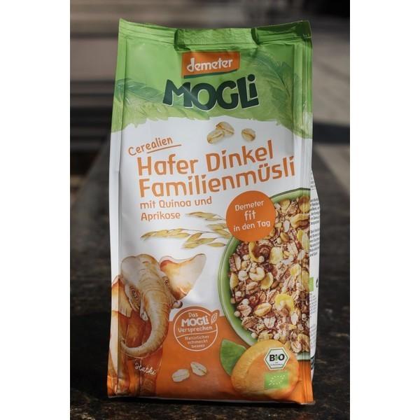 Amestec de cereale bio cu ovăz și alac Mogli 750gr