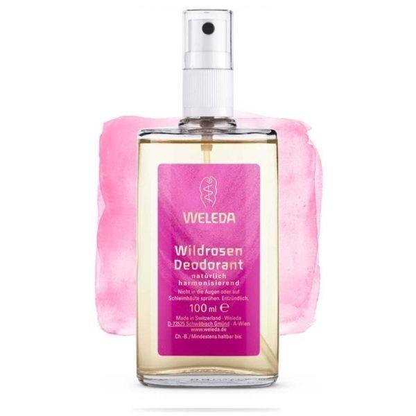 Deodorant cu Trandafir Sălbatic 100 ml