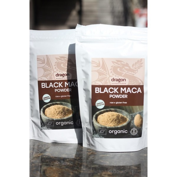 Maca neagra pulbere organica Dragon superfood 100gr