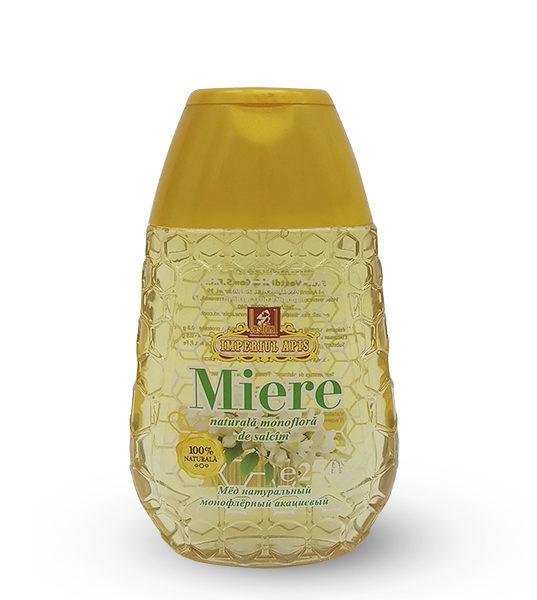 Miere naturală monofloră de salcîm, 250 g