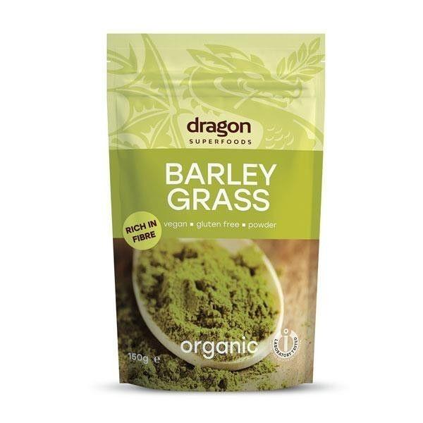 Pulbere de iarba de orz organica Dragon Superfood 150gr