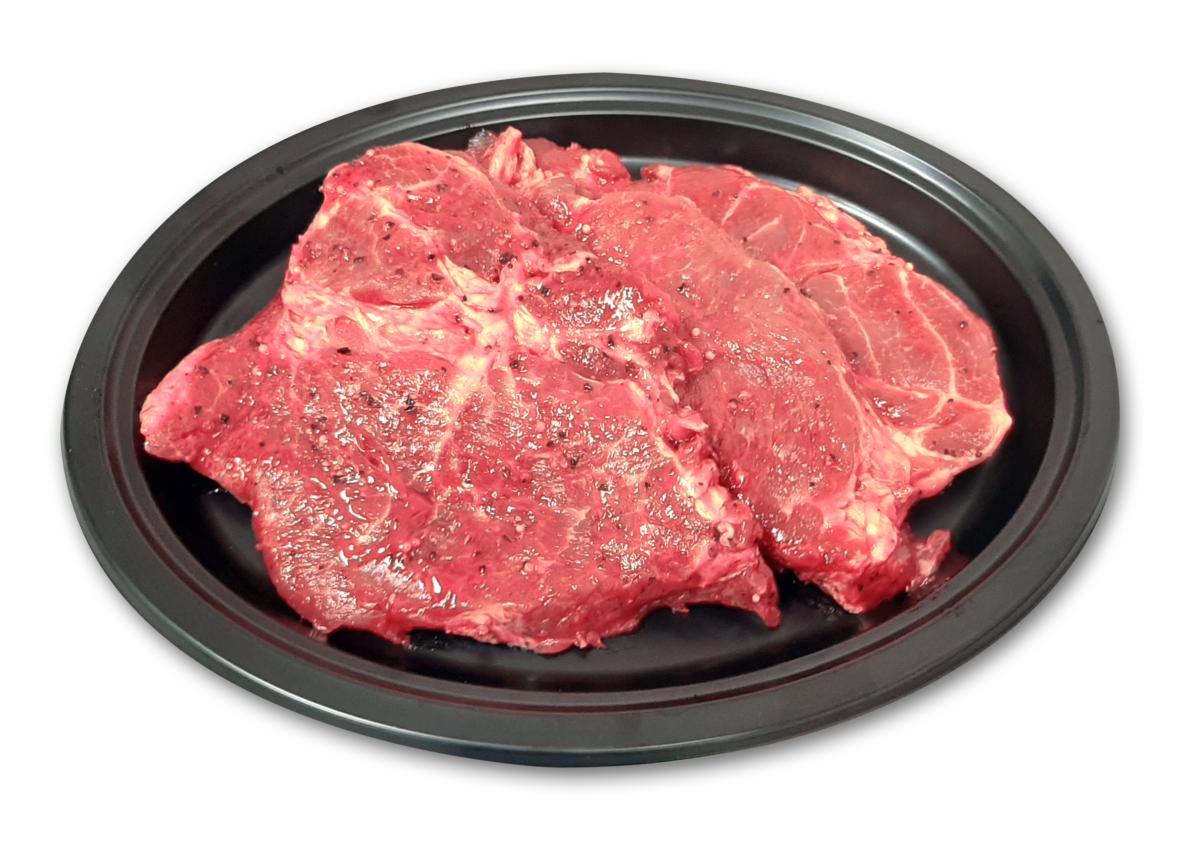 Steak de Porc (Ceafa) în sos