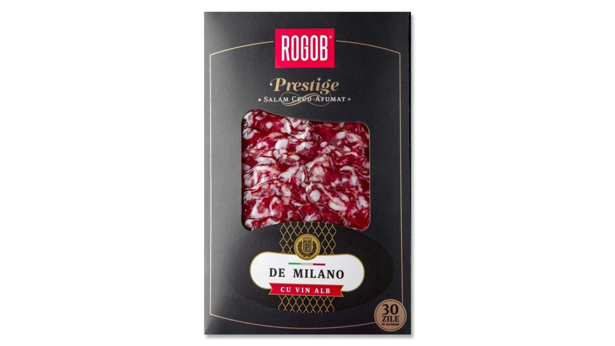 "Salam Crud Afumat ""De Milano"" cu vin alb (80 gr.)"