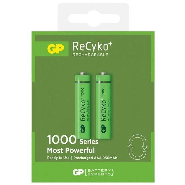 Аккумулятор GP AA 1000 mAh HCE-2GBE2 Recyko