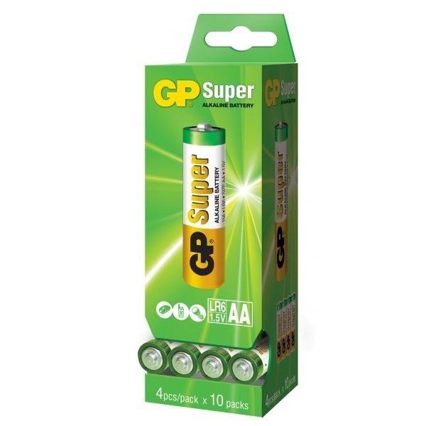 Батарейка GP AA 15A 2DP40 S4 Alkaline