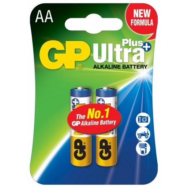 Батарейка GP AA Ultra+ Alkaline 15AUP U2