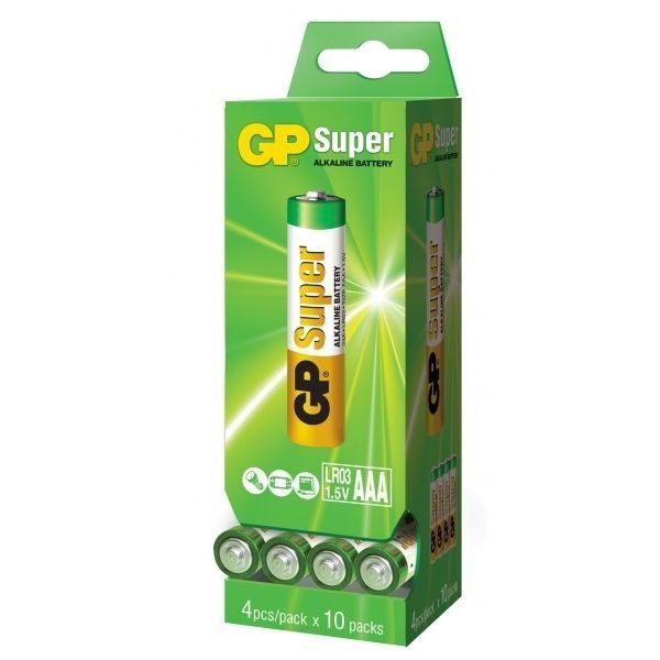 Батарейка GP AAA 24A 2DP40 S4 Alkaline