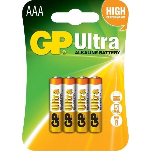 Батарейка GP AAA ULTRA ALKALINE 24AU U4
