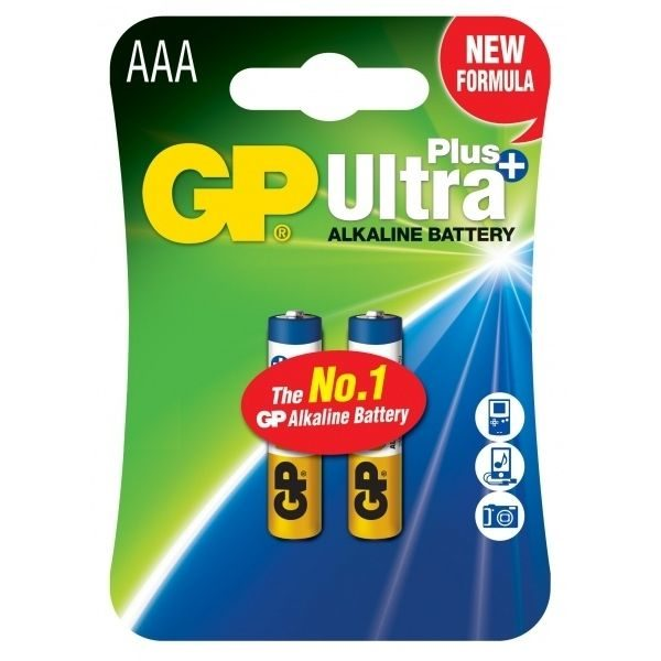 Батарейка GP AAA Ultra+ Alkaline 24AUP U2