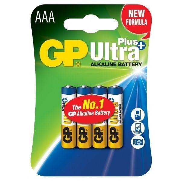Батарейка GP AAA Ultra+ Alkaline 24AUP U4