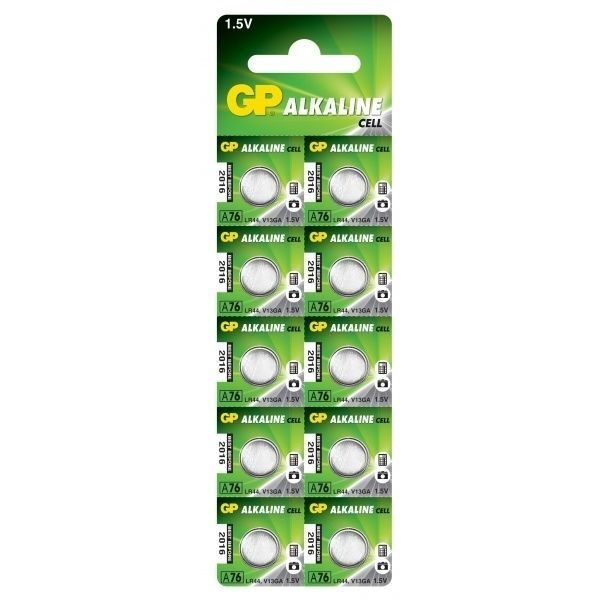 Батарейка GP ALKALINE A76 U10 (AG13)