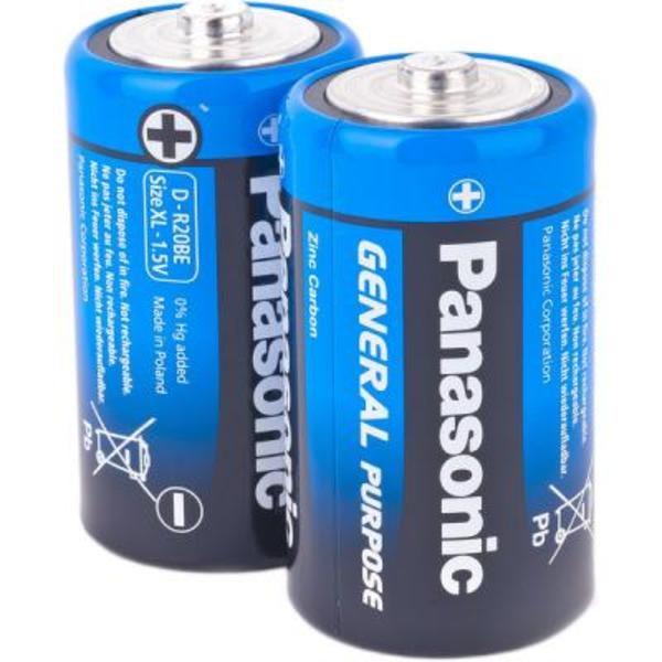 Батарейка Panasonic D R20
