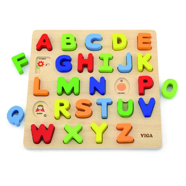 Блок Пазлы – Изучение Алфавита