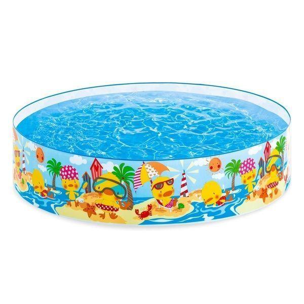 Детский бассейн Утинный Риф 122×25см