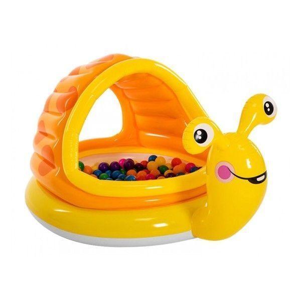 Детский надувной бассейн Ленивая улитка 145x102x74cm