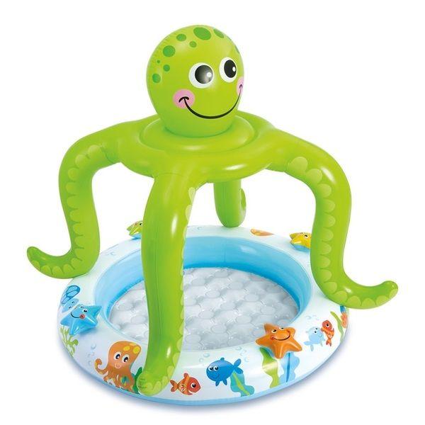 Детский надувной бассейн ОСЬМИНОЖКА 102×104см