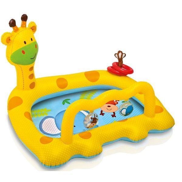 Детский надувной бассейн GIRAFFE 112х91х72см