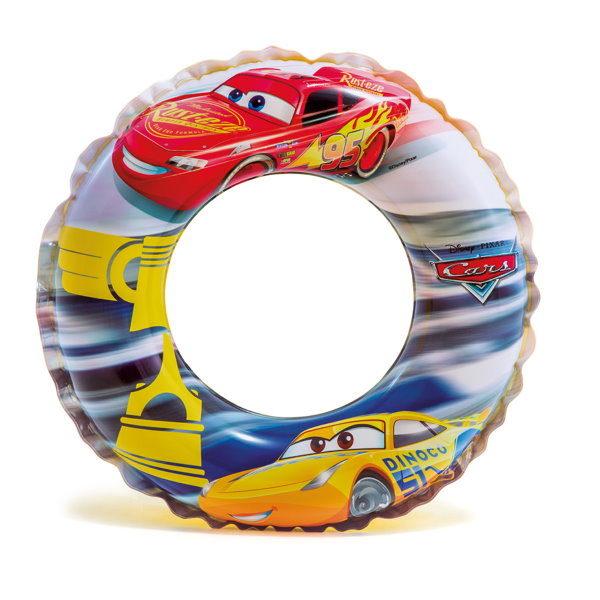 Детский надувной круг ТАЧКИ d51cm