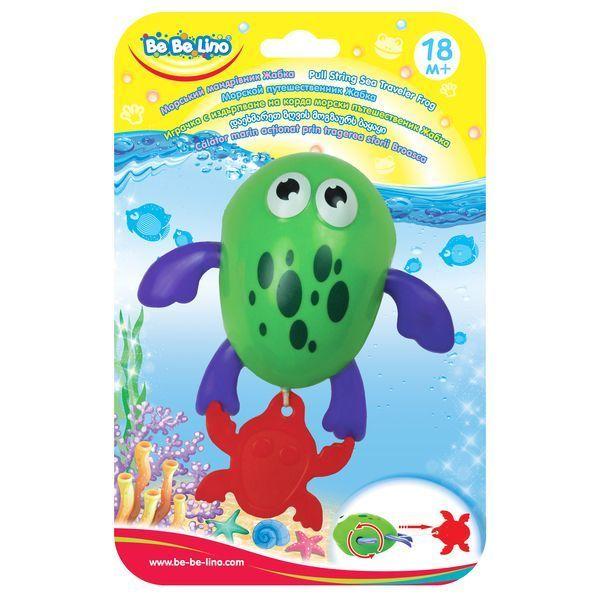 """Игрушка для ванной """"Морская лягушка-путешественница"""""""
