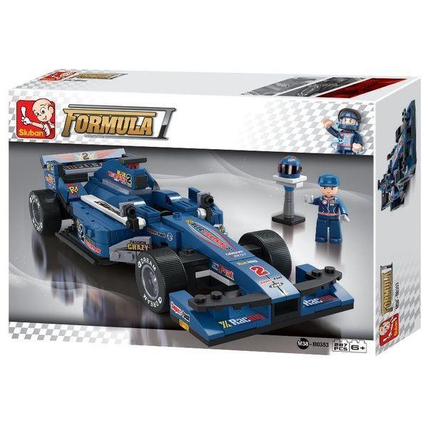 """КОНСТРУКТОР 1:24 F1 Racing Car """"BLUE LIGHTNING"""""""