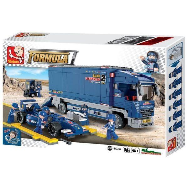 "КОНСТРУКТОР F1 ""BLUE LIGHTNING"" Racing Truck"