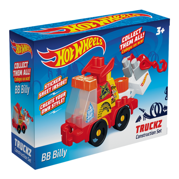 Конструктор BAUER  HOT WHEELS  truckz BB Billy