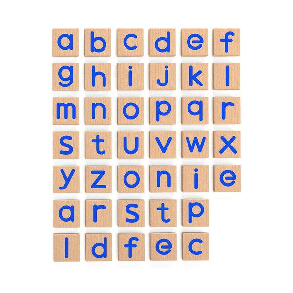 Магнитные строчные буквы (40 шт набор)