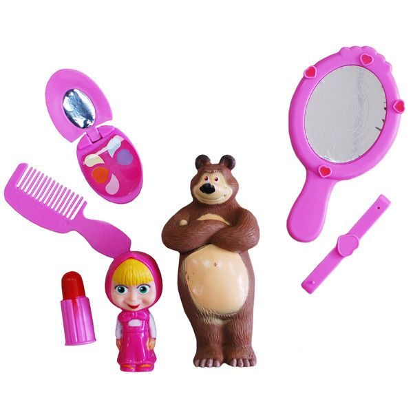 Маша и Медведь с зеркалом