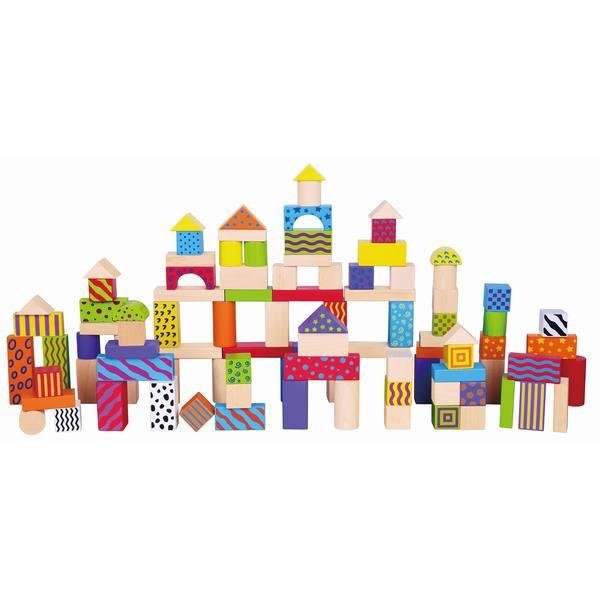 100pcs Colorful Block Set