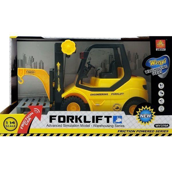 """1:14 Инерционная Машина """"Forklift Truck""""  (4 кнопки - свет / звук)"""