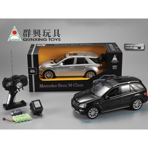 1:14 MERCEDES BENZ R/C CAR WITH CHARGER (metalic)