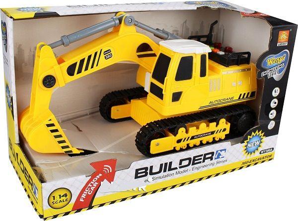 "1:14 Masina cu inertie ""360-Excavator Truck"" (lumina / sunet)"