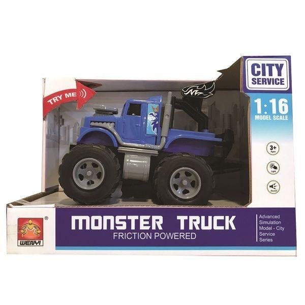 "1:16 Инерционная машина ""Mini Monster Truck"" (свет / звук)"