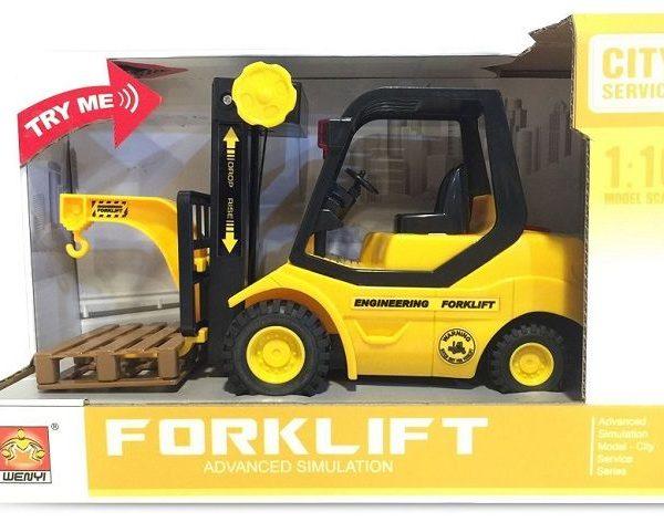 "1:16 Masina cu inertie ""Forklift"" (lumina / sunet)"