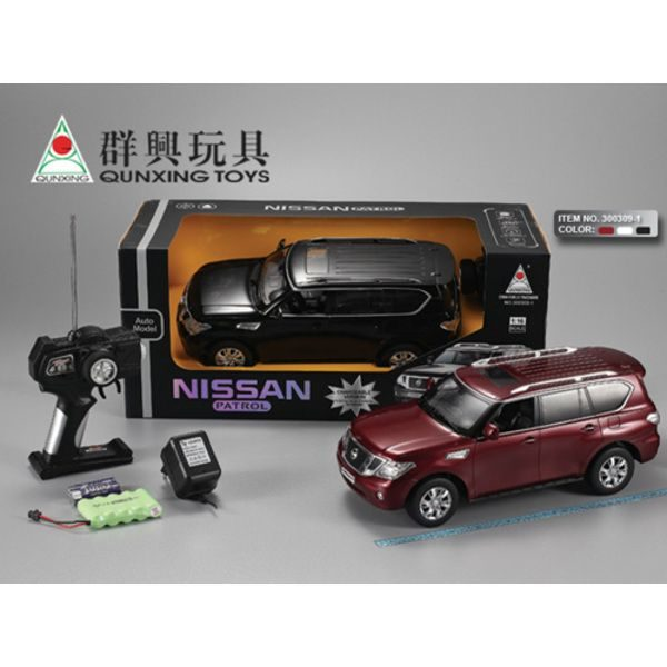 1:16 NISSAN TU LE  R/C CAR WITH CHARGER (white)