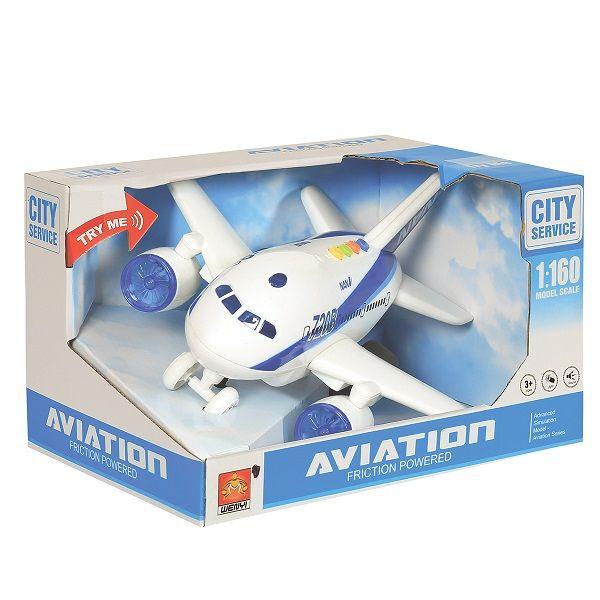 "1:160 Avion cu inertie ""Planebus 720B"" (lumina/sunet)"
