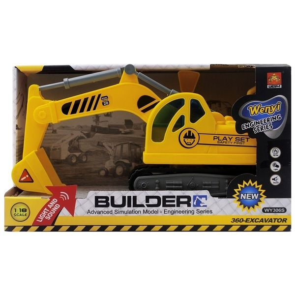"1:18 Excavator ""Construction 360-Excavator Truck"" (lumina / sunet)"