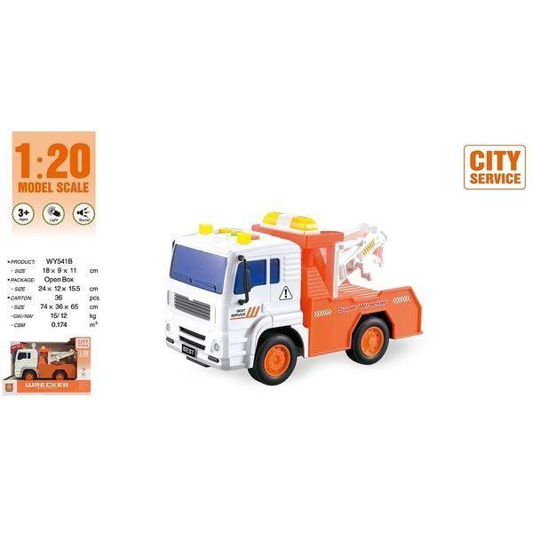 "1:20 Masina cu inertie ""Sanitation Truck"""