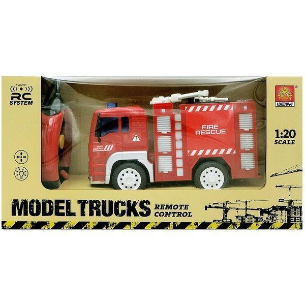 """1:20 Masina cu radio-control """"Fire Truck"""" (lumina / sunet)"""