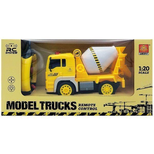 "1:20 Masina cu radio-control ""Construction Truck"" (lumina / sunet)"