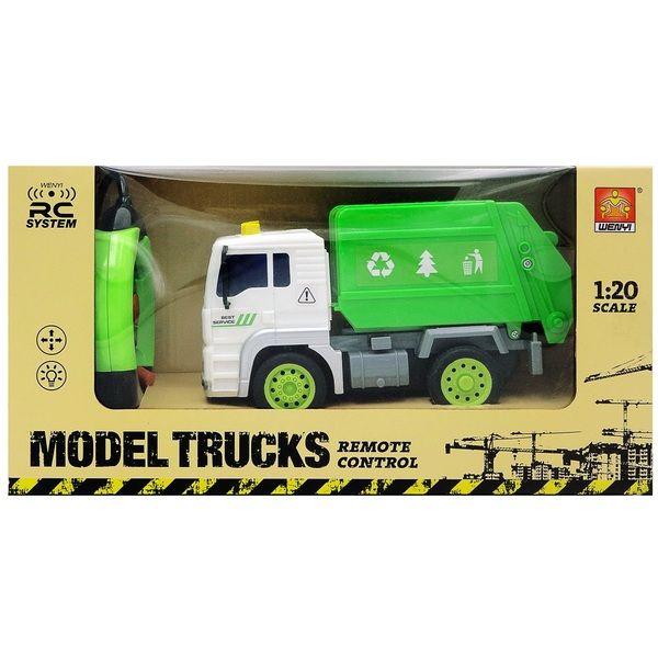 "1:20 Masina cu radio-control ""Sanitation Truck"" (lumina / sunet)"