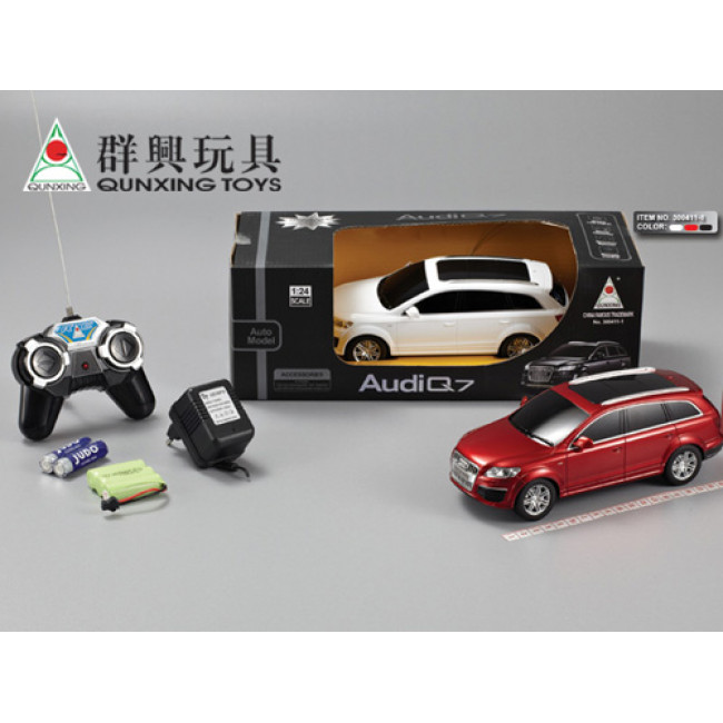 1:24 AUDI Q7 R/C CAR WITH CHARGER (black)