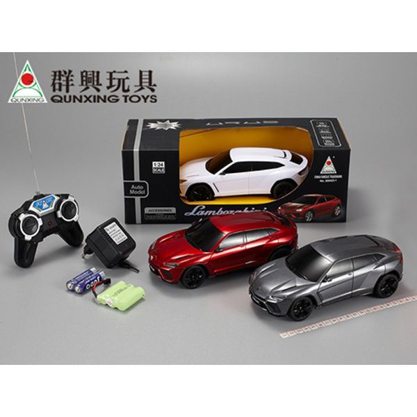 1:24 LAMBORGHINI URUS R/C CAR WITH CHARGER (white/red)