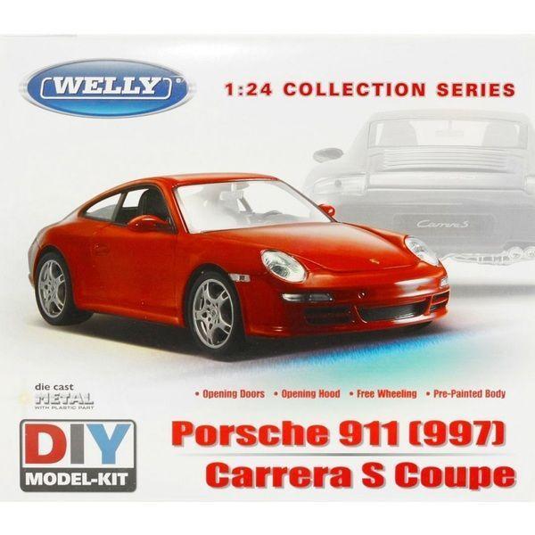 1:24 PORSCHE 911 (997) CARRERA S COUPE MODEL KIT