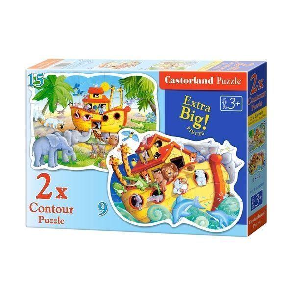 2×Puzzle Maxi 9+15