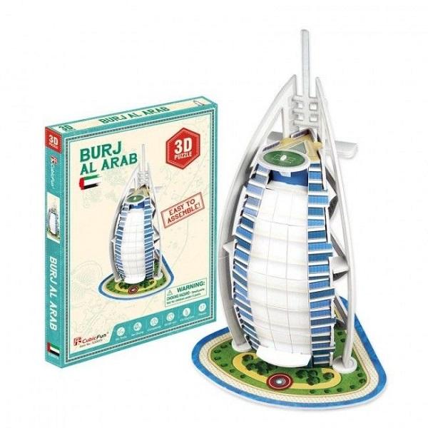 3D PUZZLE Burj Al Arab (Dubai)