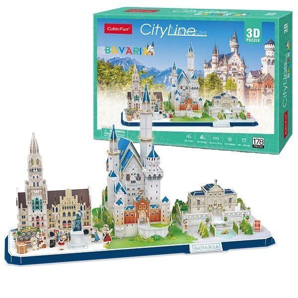 3D PUZZLE CITY LINE BAVARIA