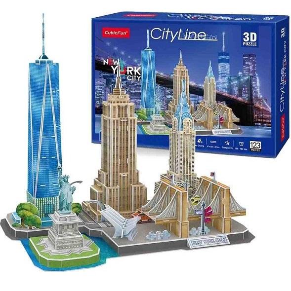 3D PUZZLE City Line New York City